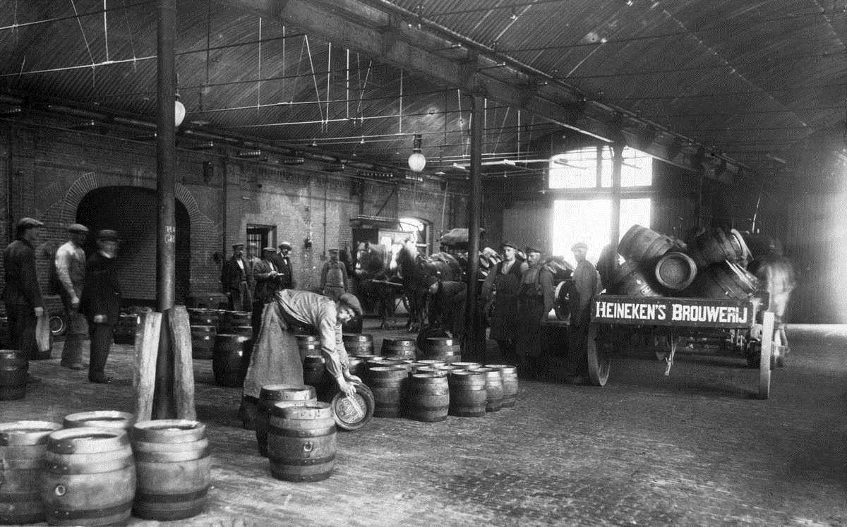 Heineken's Brewery in 1919