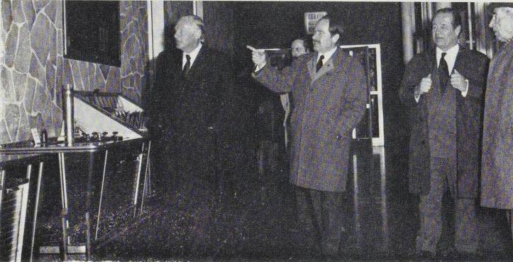 Ton, R.Wagner Heineken and J. Wagner at Albra