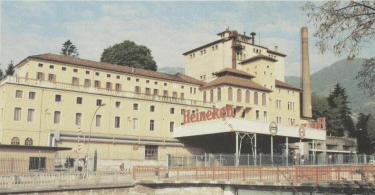 Dreher brewery at Pedavena