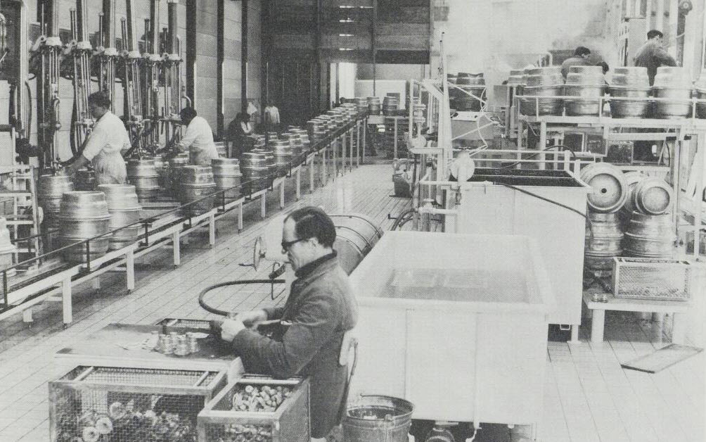 First automated keg filling line in Den Bosch